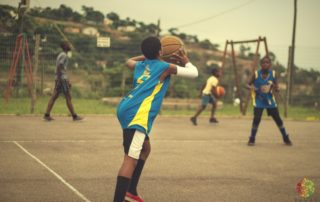 CAST Basketball Youth Development Bryan Cele