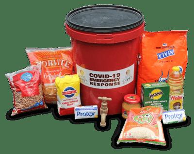 COVID-19 Food Bucket