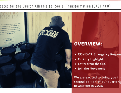 [MOVE BEYOND CHARITY] CAST Newsletter Vol.2 April/May 2020