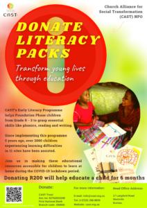Donate Literacy Packs